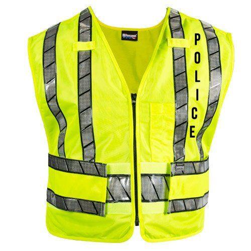 Blauer® Oralite® Zip-Front Safety Vest - POLICE (343R-P)