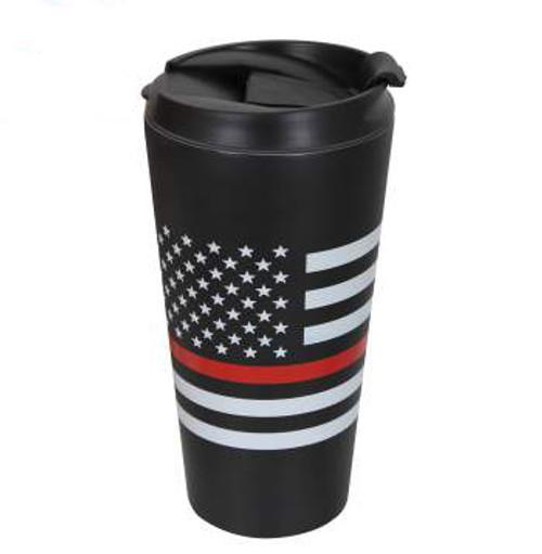 Rothco Thin Red Line Travel Mug