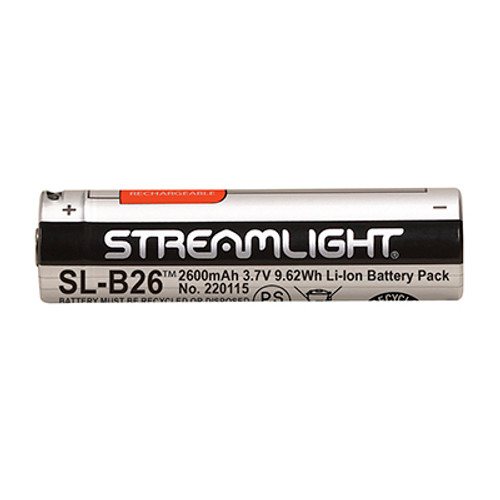 Streamlight SL-B26™ Li-Ion USB Rechargeable Battery - 2 Pack