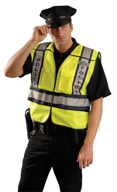 Premium Solid Public Safety Vest - Police