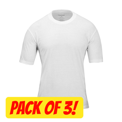 Propper 3 Pack T-Shirt - White
