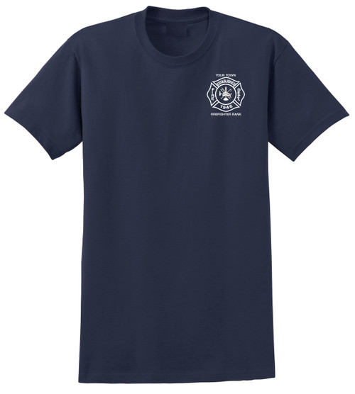Custom Short Sleeve T-Shirt - Navy