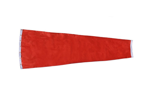 "18"" diameter x 96"" long nylon windsock for commercial, industrial and aviation industries."