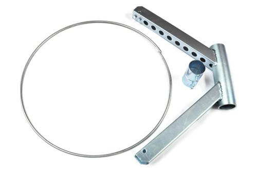 """Disassembled 18"""" Diameter Windsock Frame Kit"""