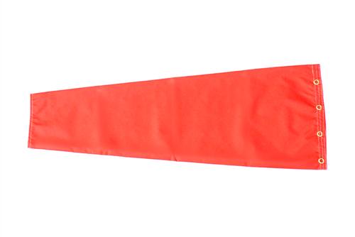 """6"""" diameter x 24"""" long nylon windsock."""