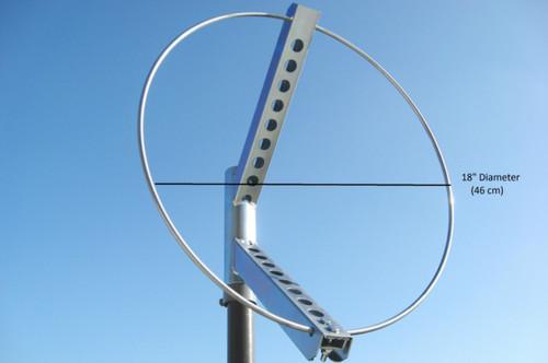 "18"" Diameter Windsock Frame, Steel"