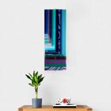 Cool Strata Wall panel by Galiani Glass Art
