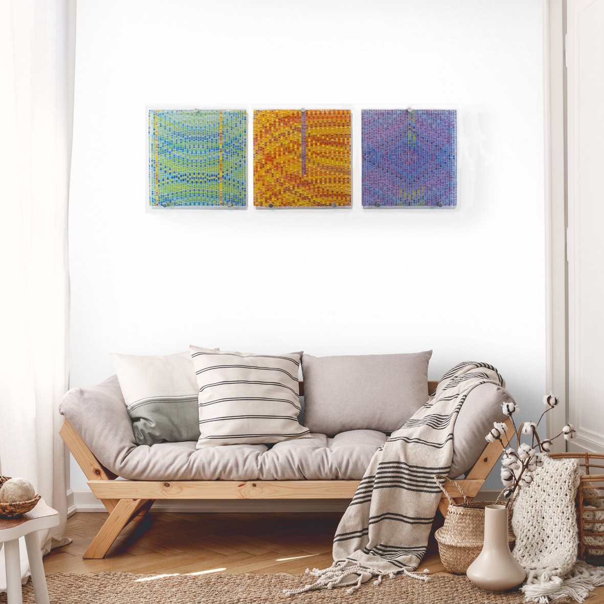 Love, Togetherness and Joy Triptych