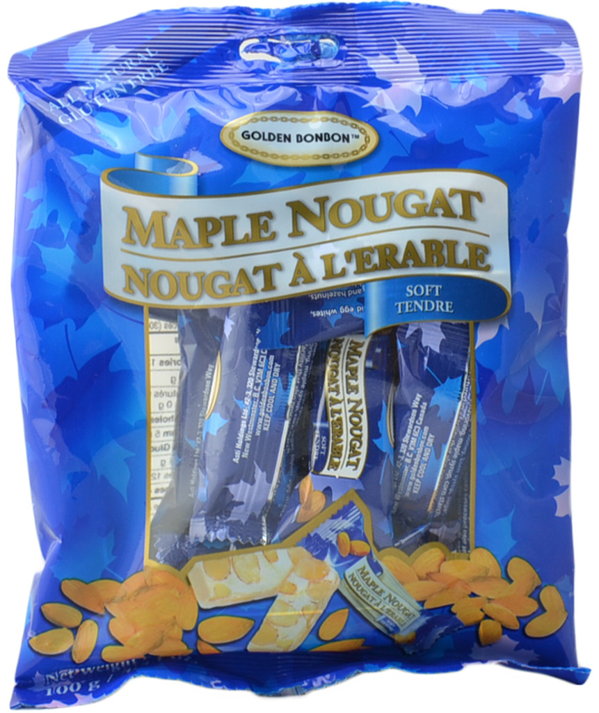 Canada True Maple Nougat - Soft (3 Pack of 100 g)