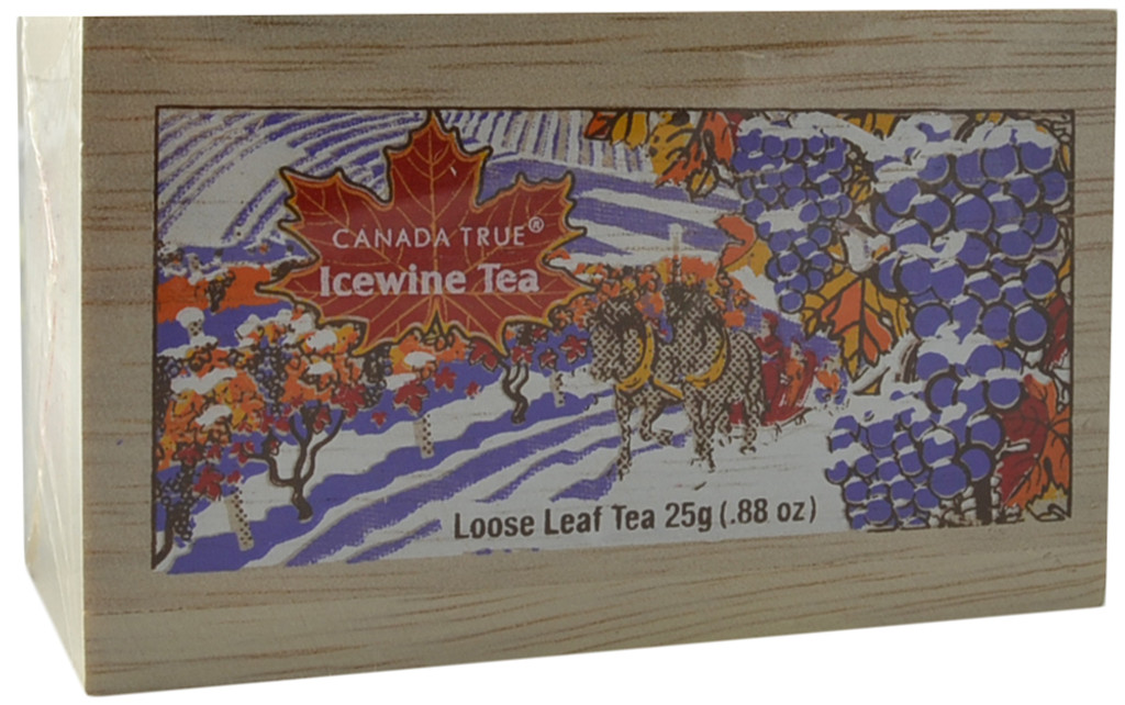 Canada True Icewine Tea - Scenic Wood Box - Loose (3 Pack of 25 g)