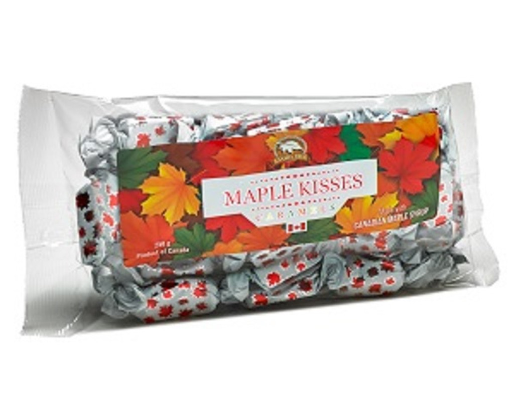 Canada True Maple Kisses Toffee - Bag (3 pack of 225 g)