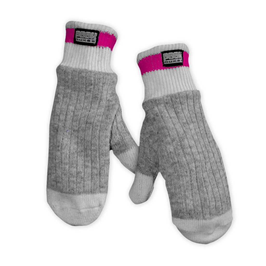 Dukes (Grey / Pink Trim) Pink Trim by Pook