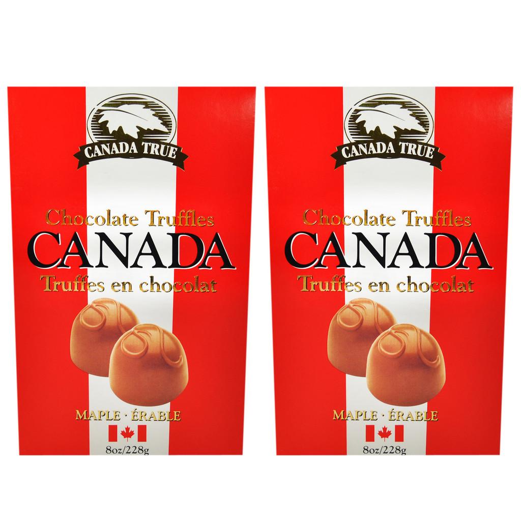 Truffles Chocolate Maple (2 Pack) by Canada True