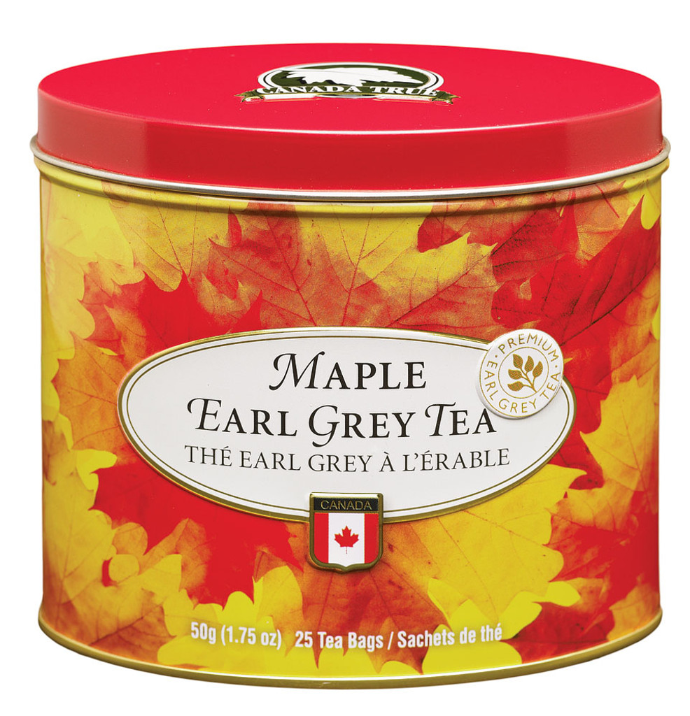 Tea Maple Earl Grey Tin (3 Pack) by Canada True