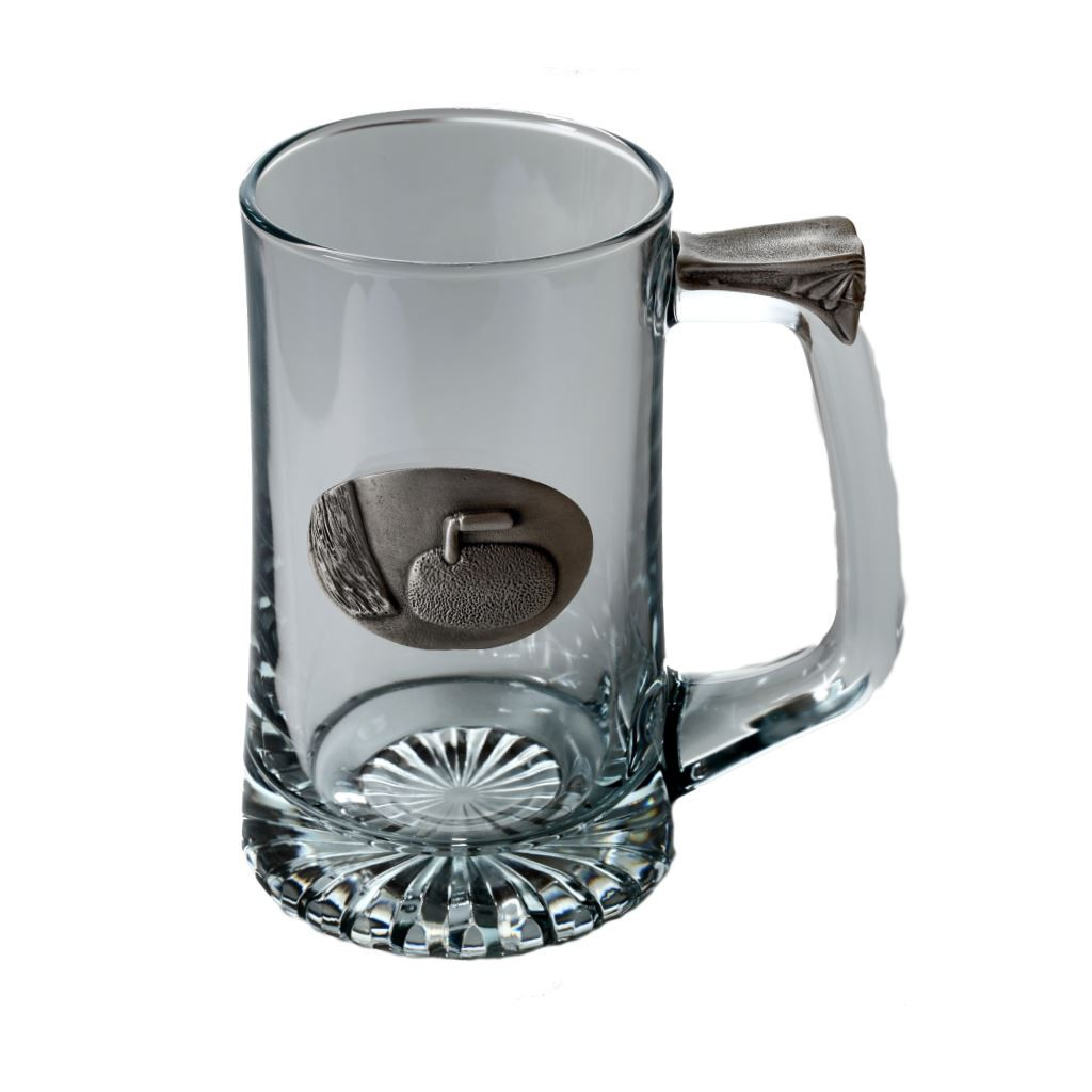 Curling Tankard by Pewterglass