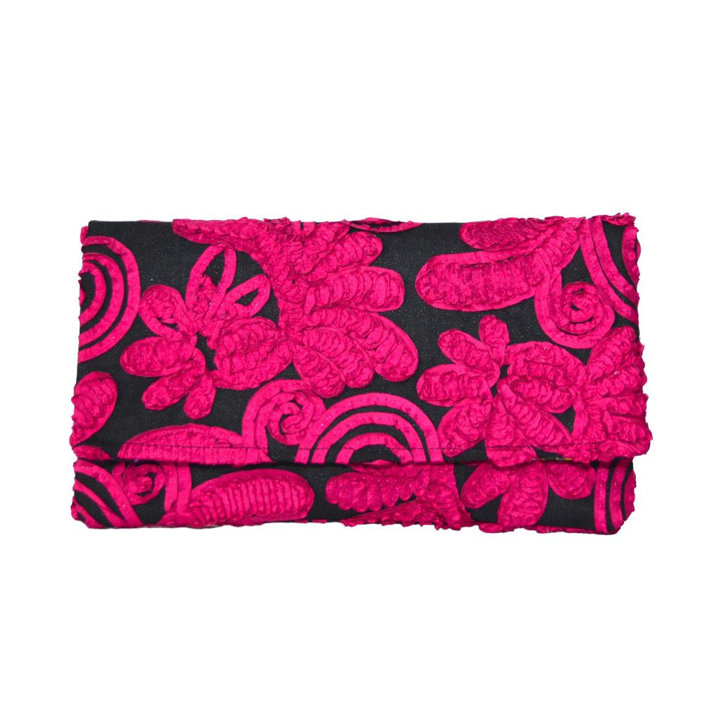 Petal Power Pink Clutch by Krave