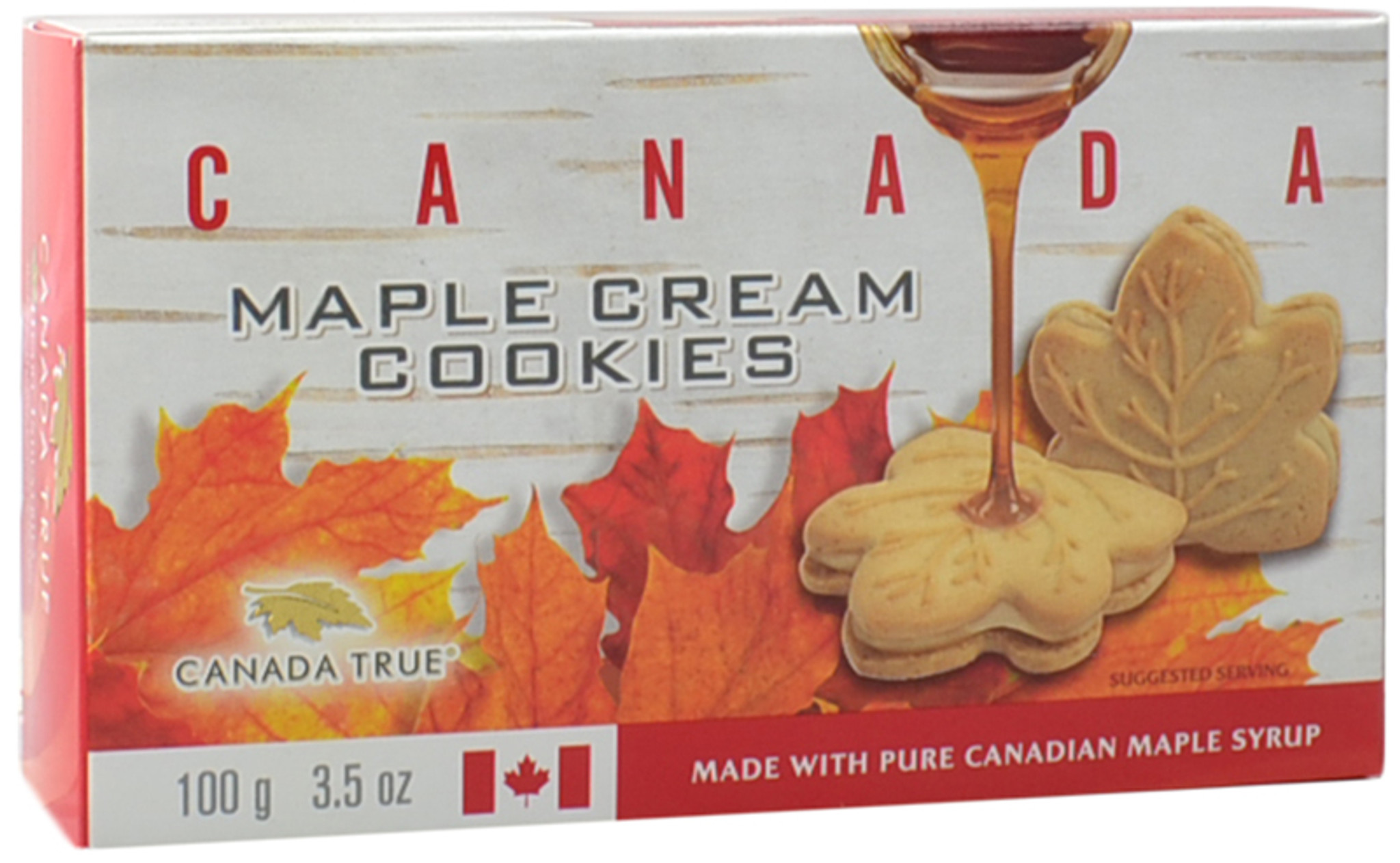 Maple Cream Cookies Canada 3 Pack Of 100g By Canada True