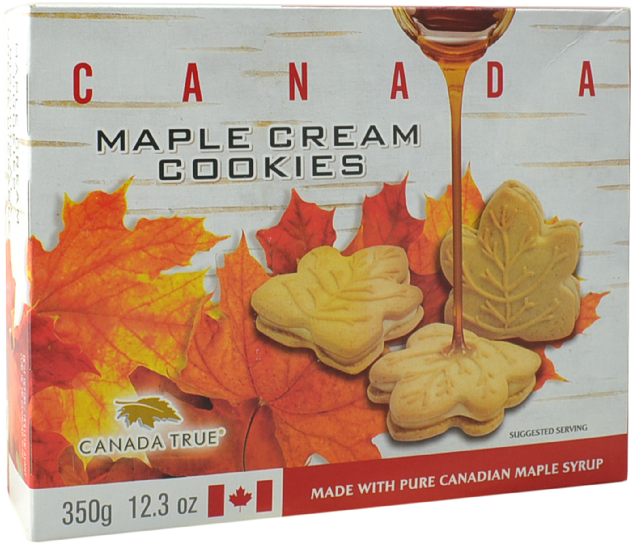 Maple Cream Cookies Canada 3 Pack Of 350 G By Canada True