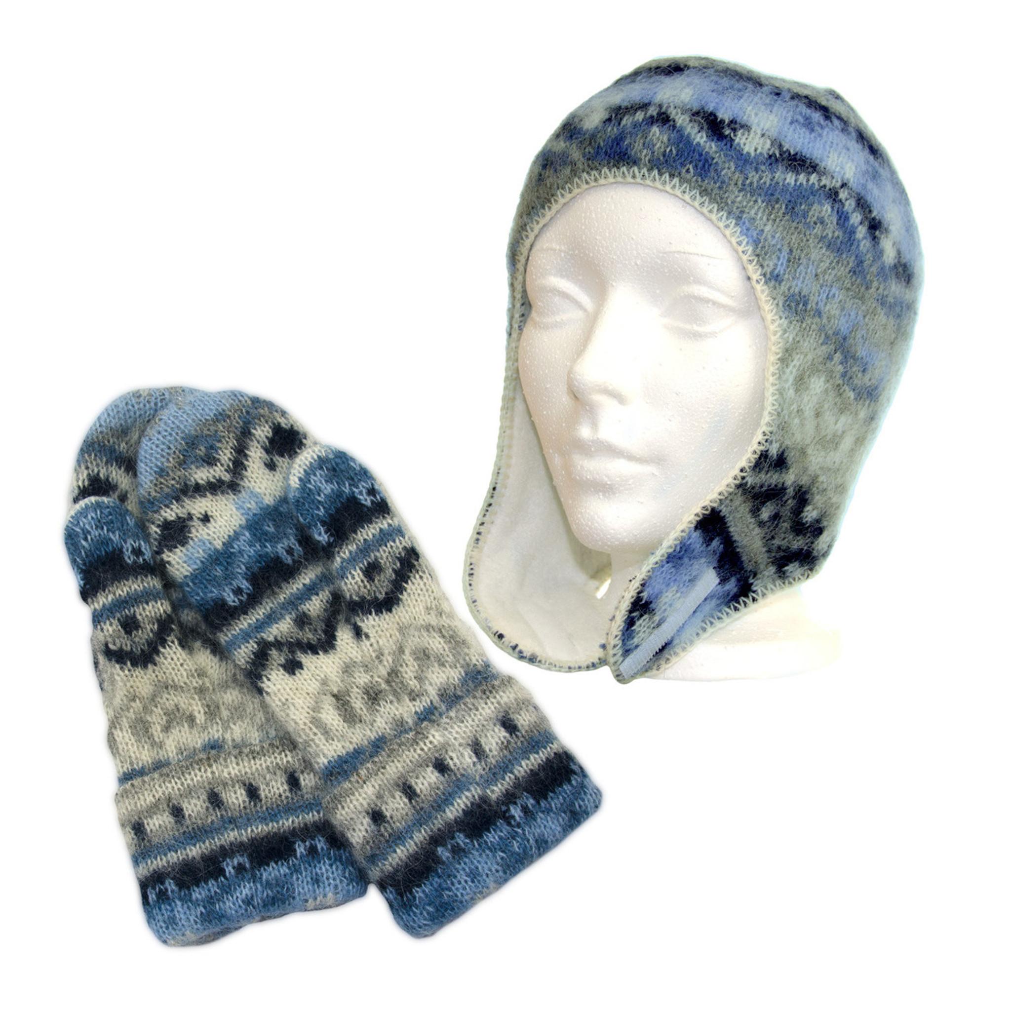 0d2e9f0ff79 ... Icelandic Wool Kid s Hat   Mitten Set (Denim) by Freyja - Ships in  Canada ...