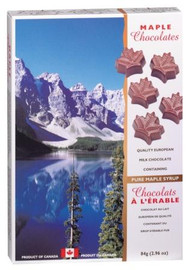 Canada True Maple Solid Chocolates - Canada (2 Pack of 84 g)