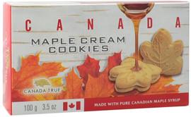 Canada True Maple Cream Cookies - Canada (3 Pack of 100g)