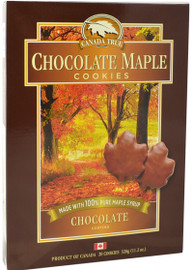 Canada True Chocolate Coated Maple Cookies (2 Pack of 280 g)