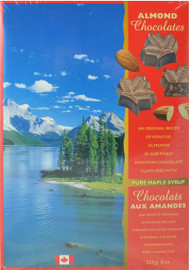 Canada True Maple Almond Chocolates (2 Pack of 225 g)