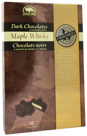 Canada True Maple Whiskey Chocolates (2 Pack of 120 g)