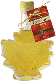 Canada True Icewine Syrup - Maple Leaf Bottle (2 Pack of 100 mL)