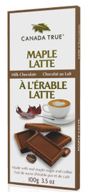 Maple Latte Milk Chocolate - Box (3 Pack of 100 g) by Canada True