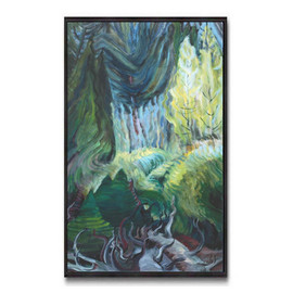 Light Swooping Through (Group Of Seven) by Emily Carr
