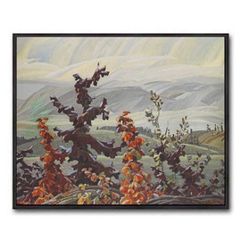 Scrub Oaks And Maples (Group Of Seven) by Franklin Carmichael