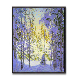 Winter Wonderland (Group Of Seven) by Lawren Harris