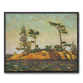 Split Rock Georgian Bay (Group Of Seven) by Tom Thomson