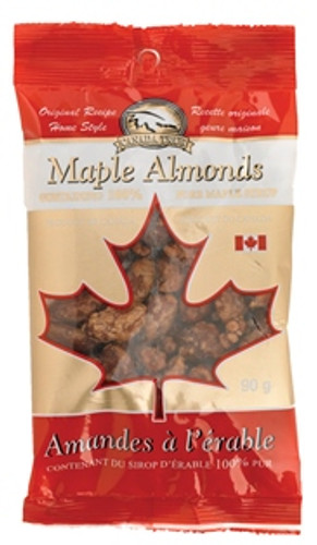 Canada True Maple Almonds (3 Pack of 70 g)