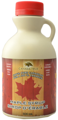 Canada True Maple Syrup - Plastic Jug (500 mL)