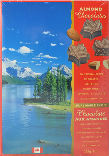 Canada True Maple Almond Chocolates (2 Pack of 225 g)