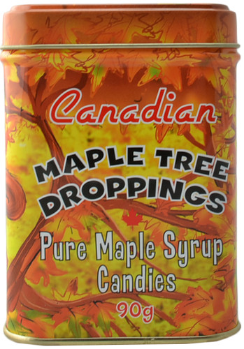 Canada True Maple Tree Droppings - Tin (3 Pack of 90 g)