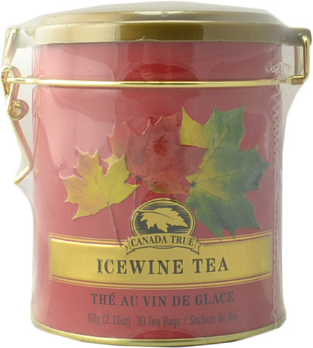 Canada True Icewine Tea - Clasp Tin (3 Pack of 30 Bags)