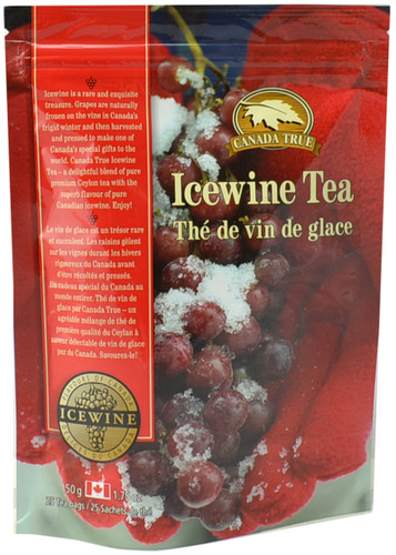 Canada True Icewine Tea - Stand Up Pouch (3 Pack of 25 Bags)
