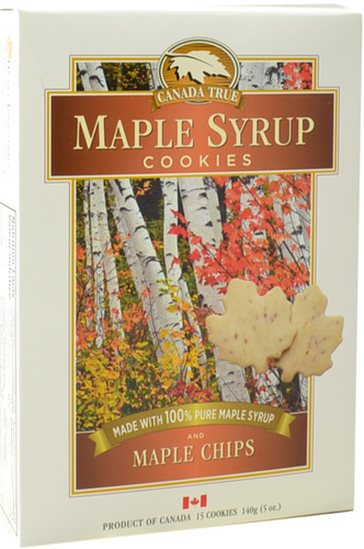 Canada True Maple Syrup Cookies (3 Pack of 140 g)