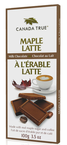 4ae04c38239 Maple Latte Milk Chocolate - Box (3 Pack of 100 g) by Canada True