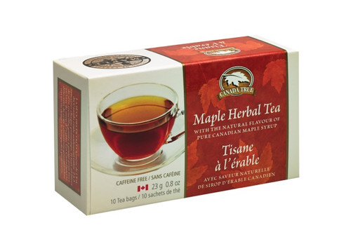 Canada True Maple Herbal Tea - Box (5 Pack of 10 Bags)