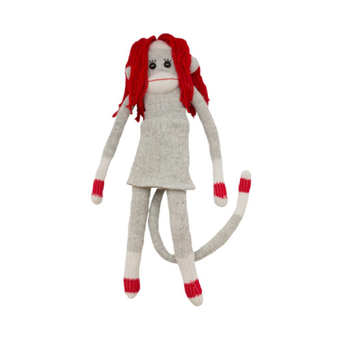 Sock Monkey (Mamma) by Pook - Ships in Canada Only