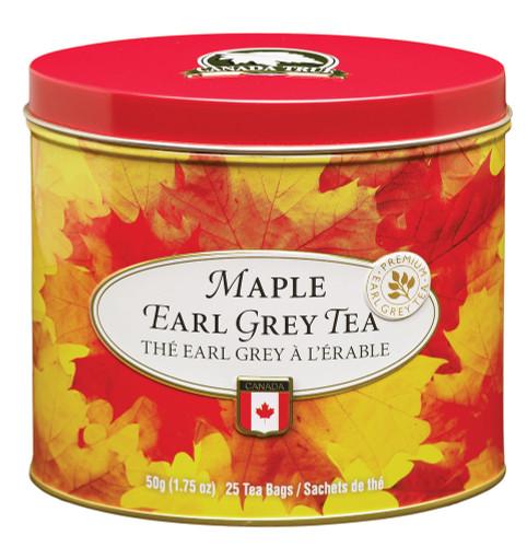 Tea Maple Earl Grey Tin (3 Pack) by Canada True