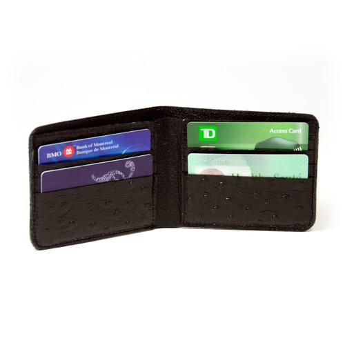 Black Walleye Wallet by Big Eye Leather