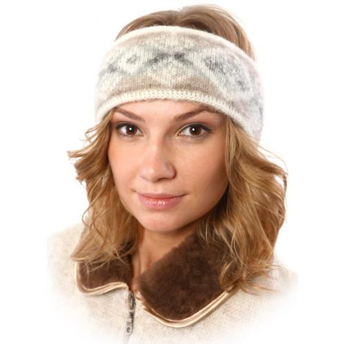 Icelandic Wool Headband (Oatmeal) by Freyja