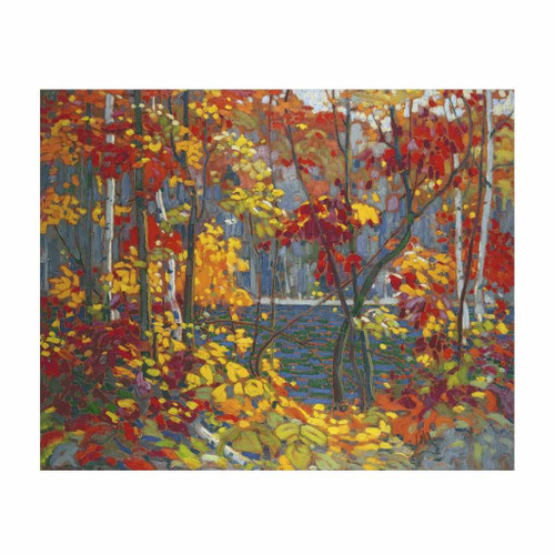 The Pool (Group Of Seven) by Tom Thomson