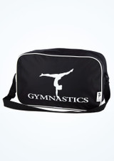 Tappers and Pointers Gymnastics Bag Black front. [Black]