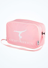 Tappers and Pointers Gymnastics Bag Pink front. [Pink]